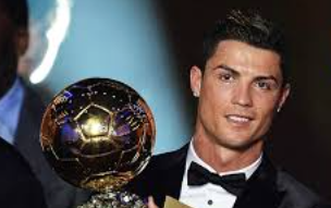 Ronaldo Wins Ballon d'or