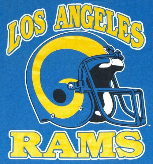 The Mega L A Rams Football