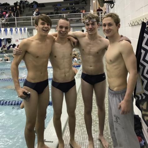 Varsity Swimming Update