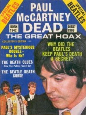 Paul McCartney is Dead