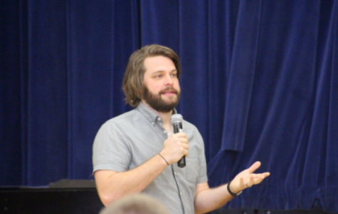 OP Welcomes Guest Speaker Kyle Scheele