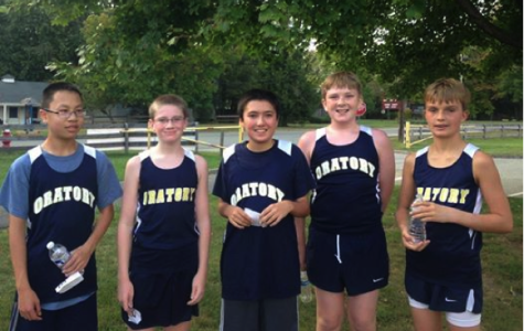 Lower School Cross Country on a Roll
