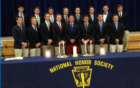 Sixteen Seniors Honored at National Honor Society