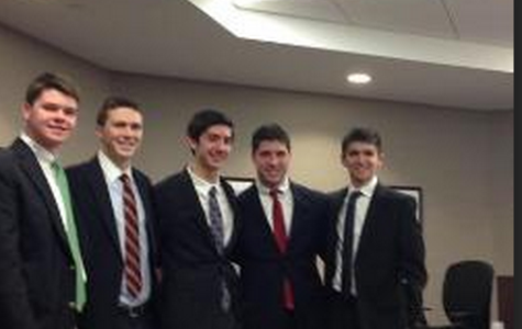 Moving on to States: The Mock Trial Team Advances