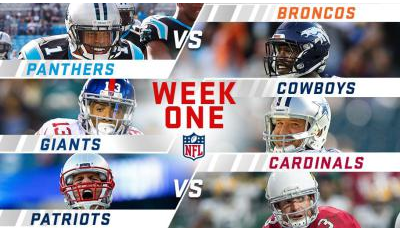 NFL Week One Early Takes