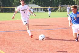 OP Varsity Soccer Takes on Counties