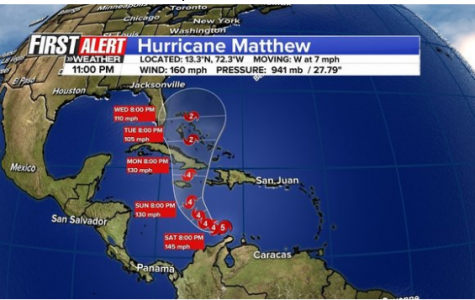 Hurricane Matthew Makes Landfall