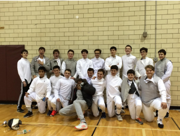 Fencing Team Competes at Drew University Tournament