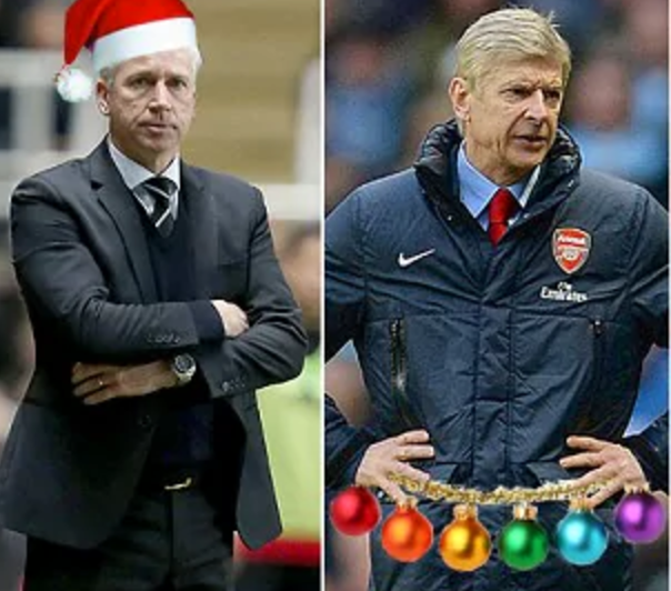 Christmas in the Premier League