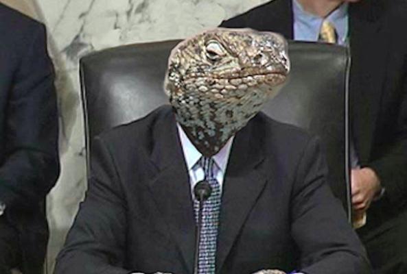 Conspiracy: Lizard People Rule the World