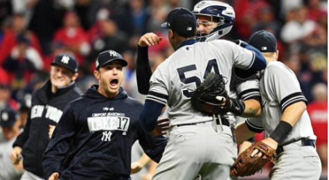 Yanks Capture AL Division Series