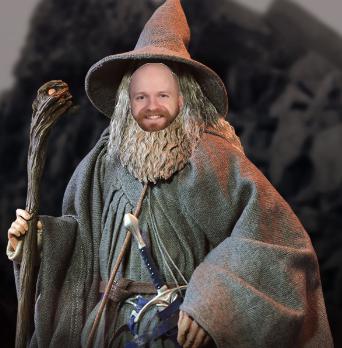 Is Mr. McCrystal Gandalf?