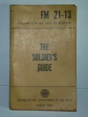 Review of FM 21-13 aka The Soldier's Guide