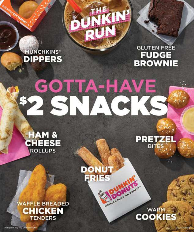 Dunkin' Donuts' New (and bland) Menu