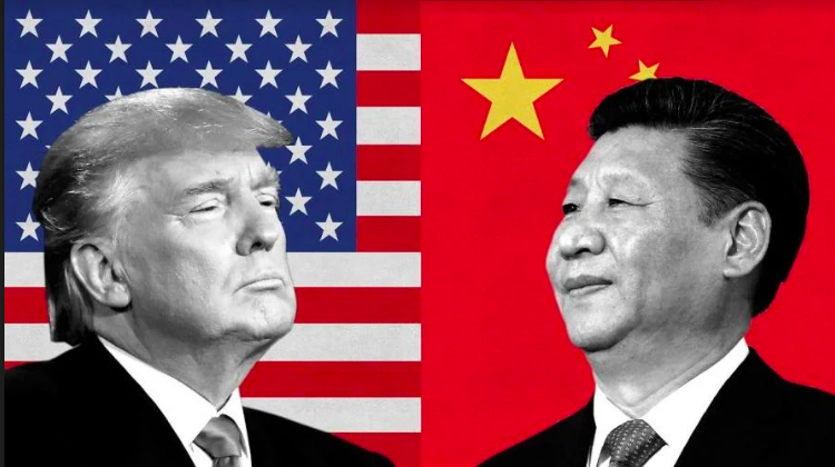 American+President+Donald+Trump+and+Chinese+President+Xi+Jinping