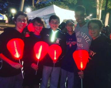 OP Boys Light the Night in Verona
