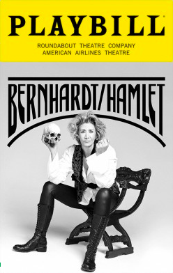 Playbill for Bernhardt/Hamlet on  Broadway