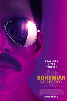 Promotional poster for Bohemian Rhapsody