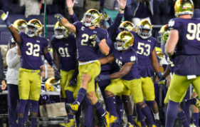 Looking At Notre Dame's Improbable Perfect Regular Season