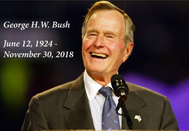 The Death of a President: The Life and Achievements of George H. W. Bush