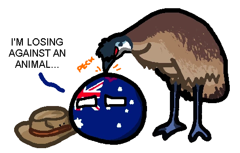 Fighting a War Against the Emus