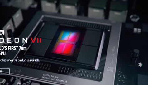 The 7 Nanometer Graphics Processor