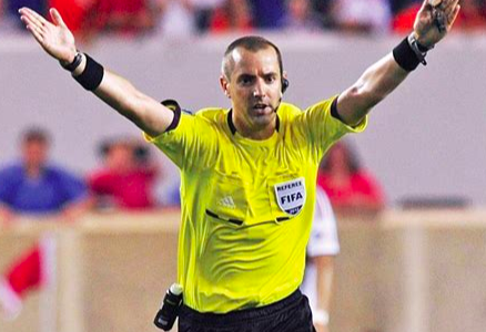 Interview with FIFA Referee Mark Geiger