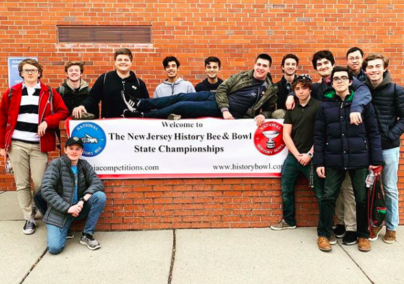 Congratulations to the OP quiz bowl team. The A squad finished 4-2 and the B team 3-3 at the New Jersey State Championships. Both teams qualified for nationals!