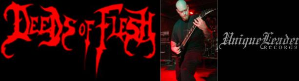 Deeds of Flesh / Erik Lindmark / Unique Leader Records