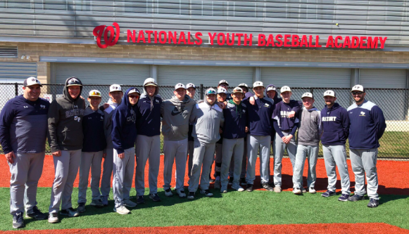 Baseball Team Heads to DC for Spring Training
