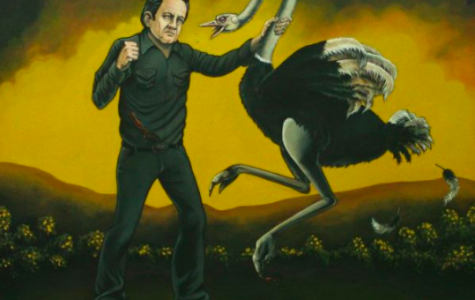 Johnny Cash vs. An Ostrich