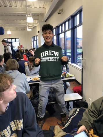 Senior Joseph Del Sol Commits to Drew University