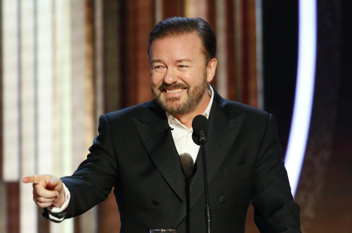 Ricky Gervais and The Roast of Hollywood