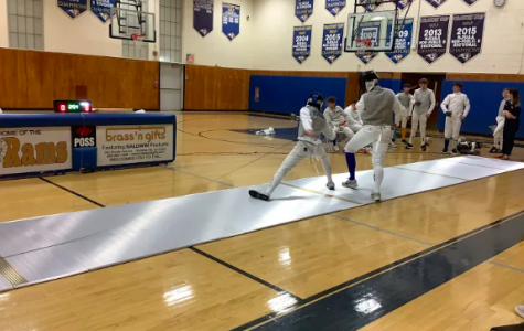 Foils Fly At Last Week's Fencing Tournament