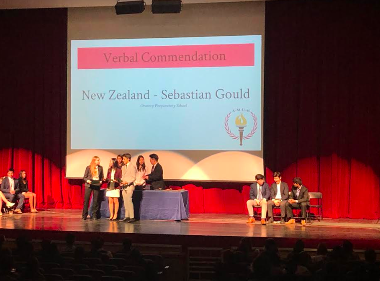 Senior+Sebastian+Gould+was+recognized+for+his+eloquent+speeches+at+the+awards+ceremony+that+followed+the+conference.