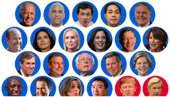 2020 Presidential Candidates as Haikus
