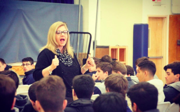 OP Welcomes Cheryl Riley for a Respect Life Assembly