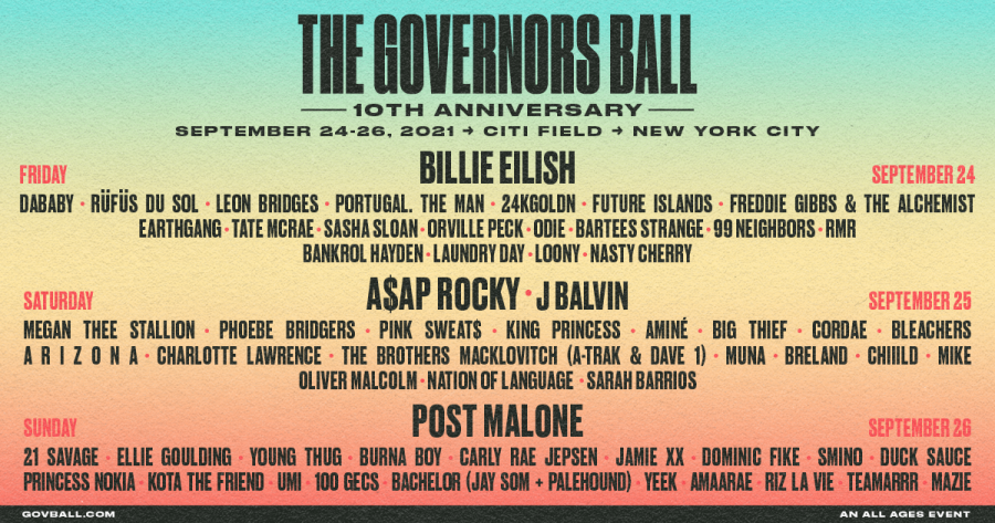 Image courtesy of the Governors Ball Music Festival